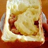 ホームベーカリーで玉葱ベーコンチーズ食パン