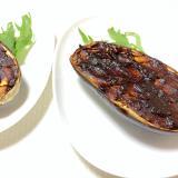 魚焼きグリルで♪米ナスの味噌田楽焼き