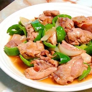 鶏もも肉と野菜の甘酢炒め!めんつゆと寿司酢で楽々♪