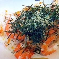 プリプリの海老がたっプリ☆海鮮ちらし寿司