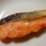 鮭のごま油焼き