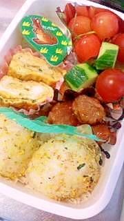 幼稚園★お弁当のおかず♪青のりの卵焼き