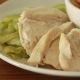 レンジで簡単!! 蒸し鶏&蒸しキャベツ
