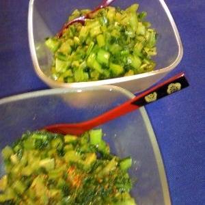 かぶの葉DE二つのお味♡ご飯のお供♡