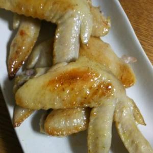手羽先のカレー塩焼き