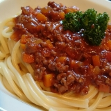 できるだけ簡単に☆ミートスパゲティー
