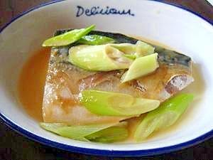 レンジで簡単☆鯖の味噌煮