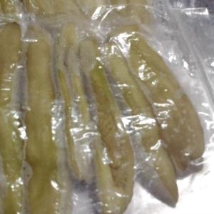 もっとも簡単な茄子の冷凍保存法