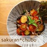 ひんやり食べよう★ラタトゥイユ風夏野菜マリネ。