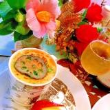 和風オニオン餅グラタンスープ