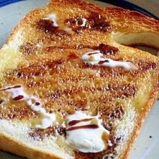 黒蜜バタートースト