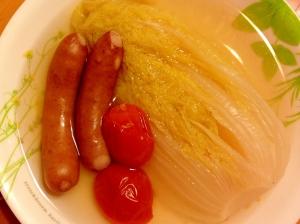 娃々菜のスープ