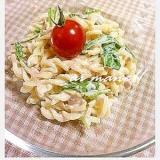 ツナと水菜のマカロニサラダ
