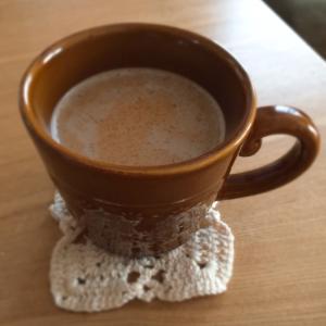 ホッとひと息 ほうじ茶ラテ