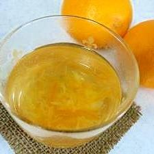 はちみつオレンジ茶