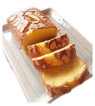しっとりパウンドケーキ!アーモンドケーキ!