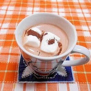 マシュマロ&チョコココア豆乳