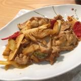 豚肉とタケノコのキムチ炒め