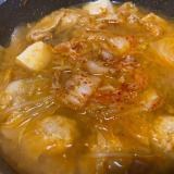 肉団子が美味しい♪キムチ鍋