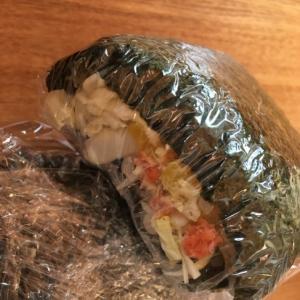 鮭味噌キャベツおにぎり