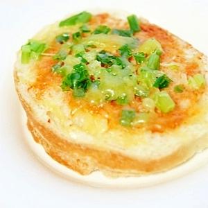 美味しかった!★ネギチーズトースト★