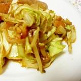 野菜炒め みそ味