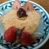 いちご&いちごジャムのせきな粉葛餅