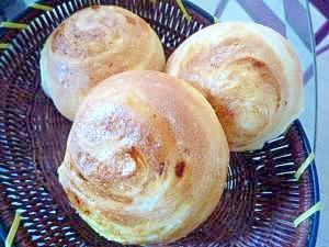 カスタード❤折込みパン