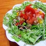 サラダみたいな「タコライス」♪