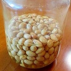 煎り大豆使用で簡単!香ばしい~酢大豆