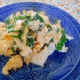 胸肉とニラの卵炒め