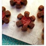 ジュレの花のチョコレートフィナンシェ