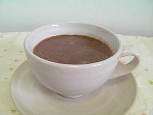 ホッとしたい時の チョコミルクコーヒー