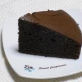 米粉のチョコレートケーキ