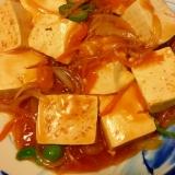 豆腐ステーキ☆甘酢あん