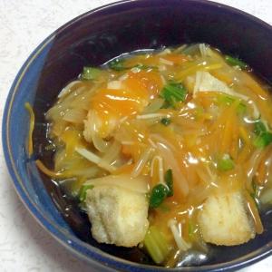 ほっこり☆美味しいタラ(鱈)の野菜たっぷりあんかけ