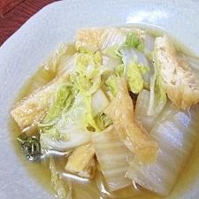ひと手間で旨味が凝縮☆ 「白菜の煮びたし」