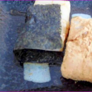 ポリ袋で作る 安倍川餅