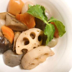 簡単♪根菜とこんにゃくの炒り煮