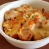 豚肉と里芋のチーズ焼き