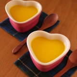 かぼちゃ&スイートポテトの超簡単濃厚プリン☆卵なし
