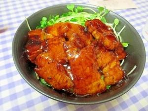 帯広風★豚丼