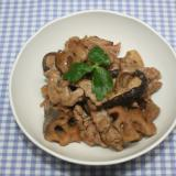 NHKきょうの料理☆乾燥れんこんと豚肉の甘辛い煮物