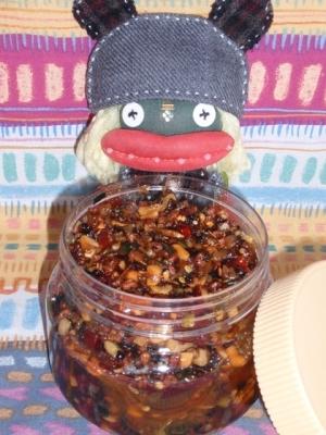 お家で作りおき具沢山の食べる辣油