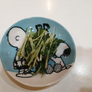レンジで簡単!水菜のお浸し