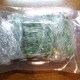 絹さや冷凍保存方法