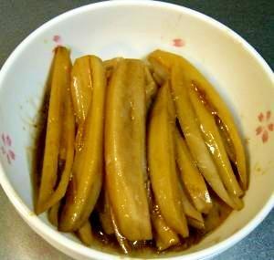 和食の一品、レンコンのきんぴら