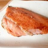 塩鮭の塩抜き&焼き鮭