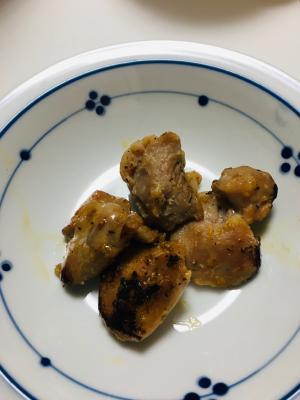 塩麹漬けの鶏肉