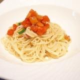 【宮城食材】トマトとサーモンの和風サラダ素麺